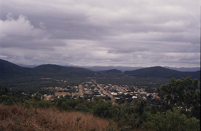 Cooktown from Grassy Hill Lookout.