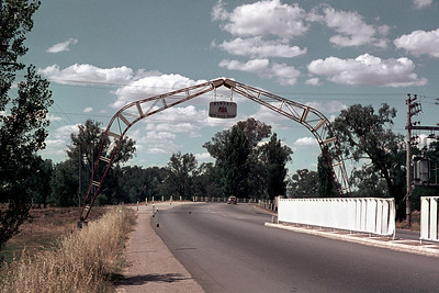 Border crossing at Albury / Wodonga