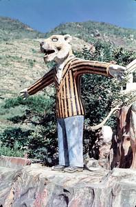 Tiger Balm Gardens - Tiger Man