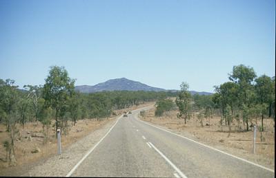 Road towards Mareeba.