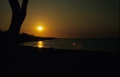 Weipa sunset.