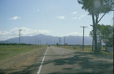 Highway heading north.