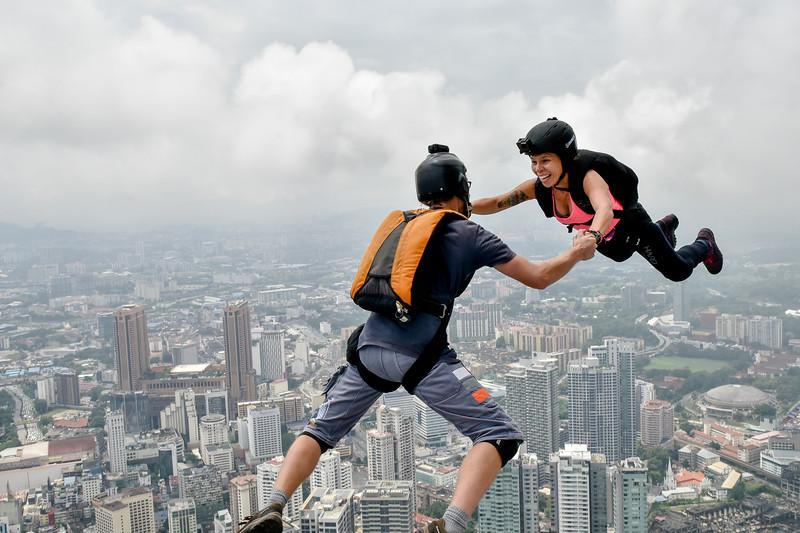 KL Tower Jump 2017