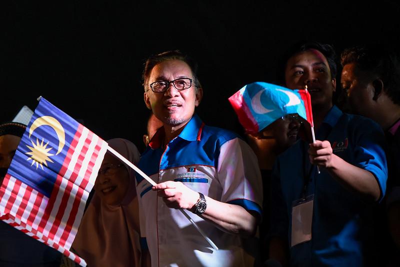 Solidarity for Anwar Ibrahim in Kuala Lumpur