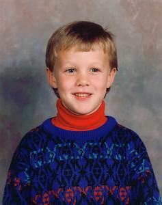 Kindergarten - Age 6 Carrollton Elementary School - 1991