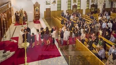 2017 St Spyridon English Church Service