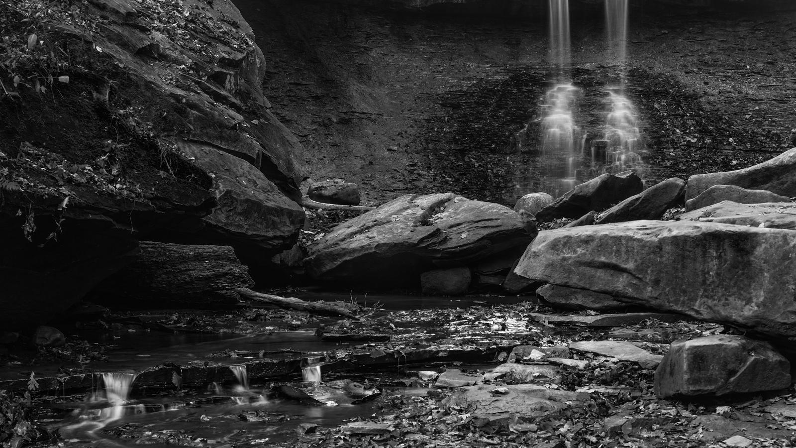 Blue Hen Falls, Cuyahoga Valley National Park, October 2015 - Study 02.