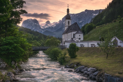 St. Sebastian Church in Ramsau bei Berchtesgaden