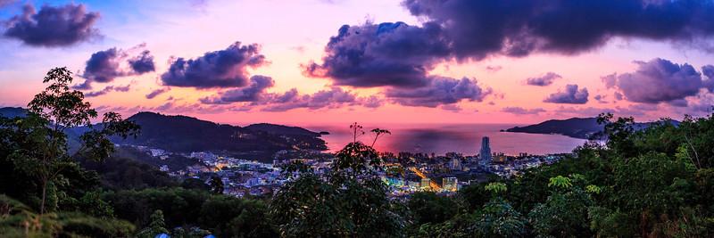 Sunset in Wassa Bar Patong