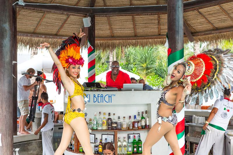DJ Mr. Mike at Nikki Beach Club Phuket