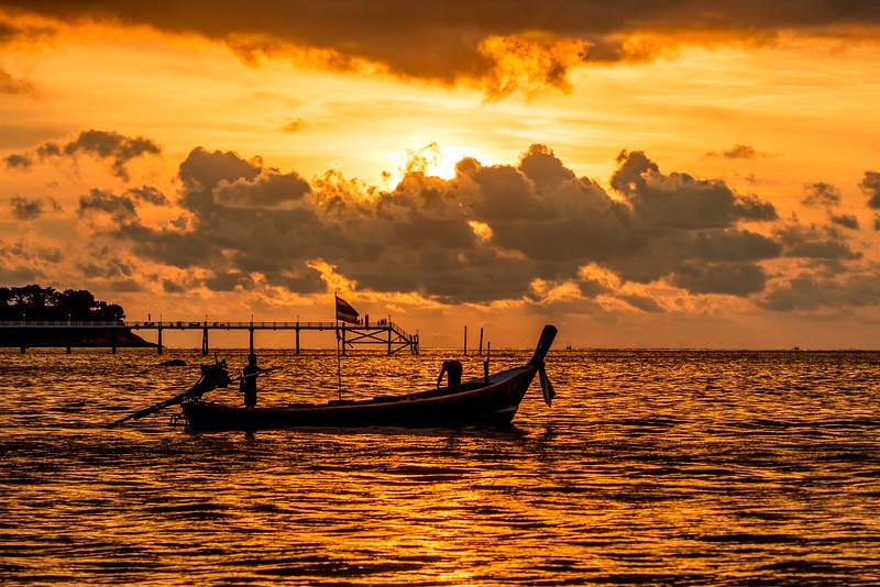 Sunset in Phuket 2017