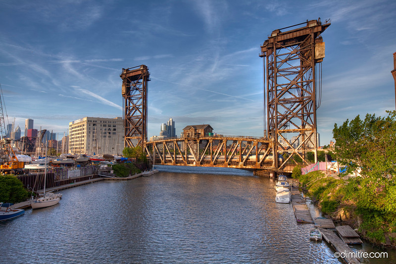 Chicago Amtrak Railroad Bridge 8436