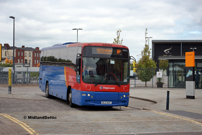 Stagecoach 53033, Roundhouse Rd Derby, 18-08-2018