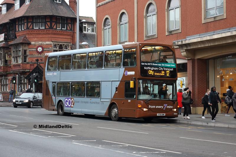 NCT 981, Mansfield Rd Nottingham, 19-01-2019