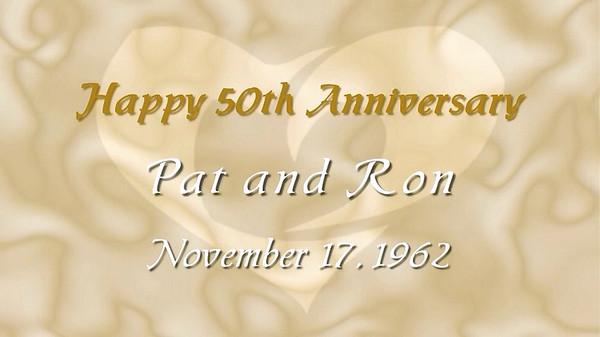 50th Wedding Anniversary Slideshow