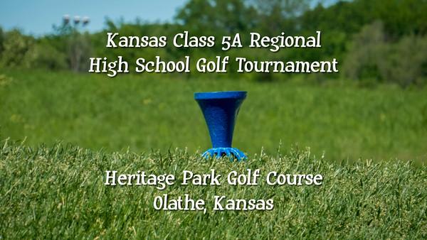 Kansas Class 5A Boys High School Golf