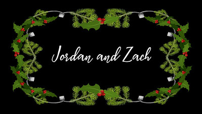 Jordan and Zach