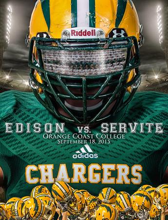 Edison vs  Servite Cover