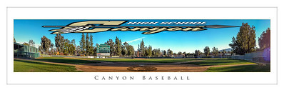 Canyon Baseball Pano 20x60
