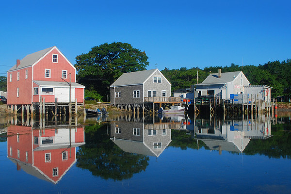 Cape Porpoise fish shacks