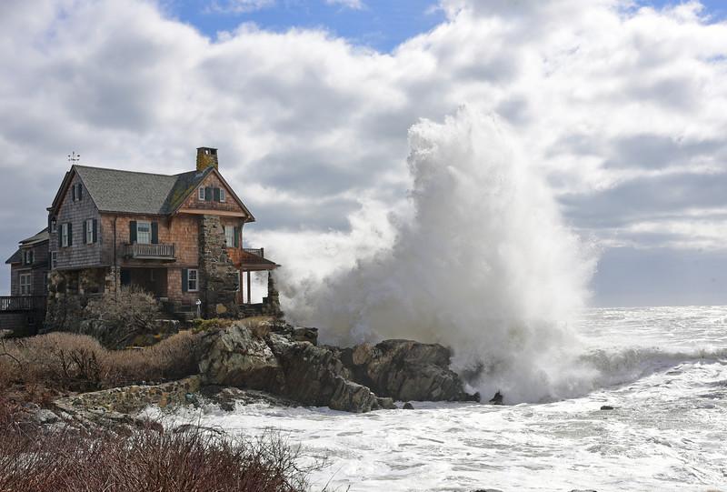 Big splash, Ocean Avenue
