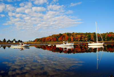 Autumn, Kennebunk River
