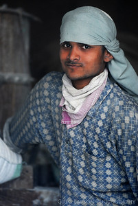 Mill worker, Amritsar, India