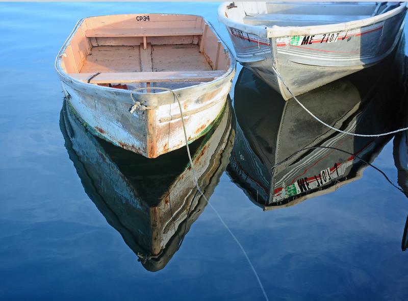 Reflections, Cape Porpoise pier