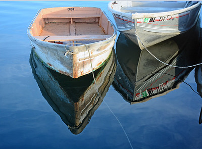 Reflections, Cape Porpoise pier