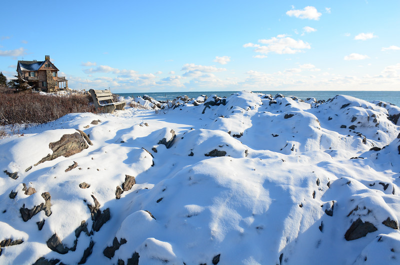 Winter, Ocean Avenue