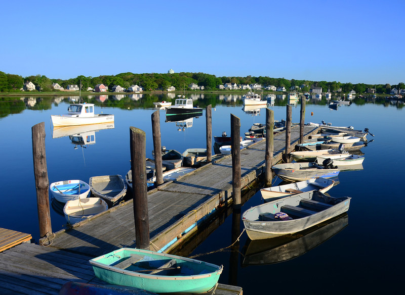 Cape Porpoise early morning reflections