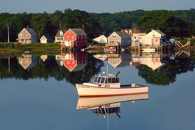 Lobster boat, Cape Porpoise