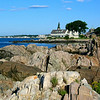 Kennebunkport's rocky coast