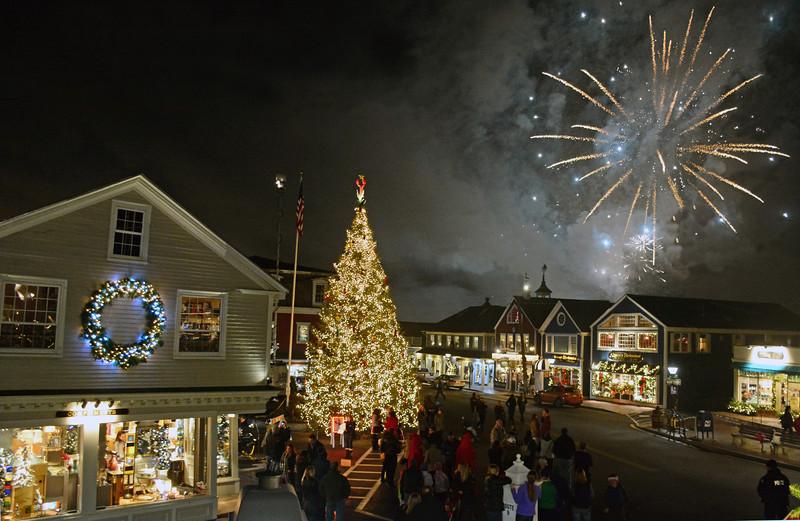 Christmas Prelude Fireworks