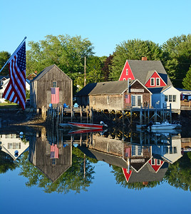 Reflections, Cape Porpoise Cove