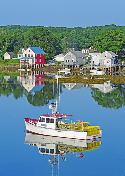 Morning reflections, Cape Porpoise