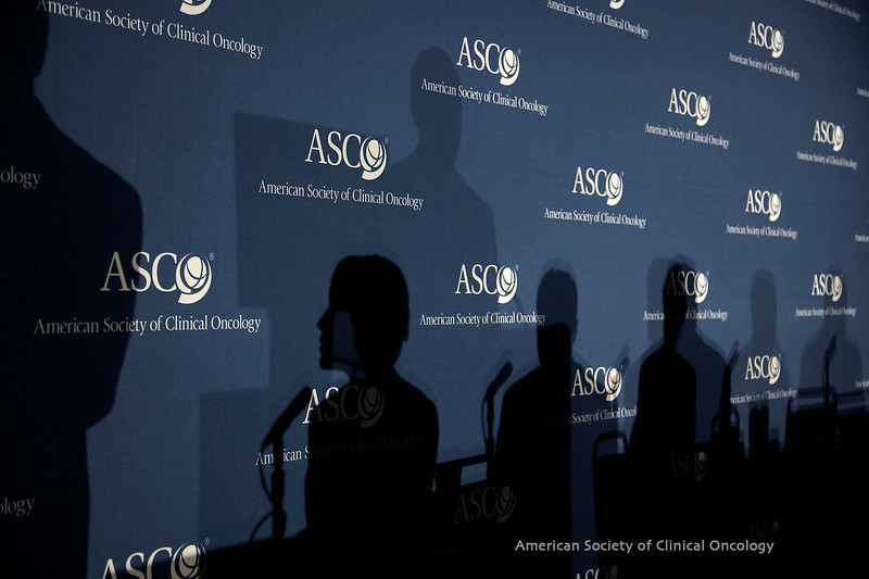 Chicago, IL - ASCO 2010 Annual Meeting: Panelists and journalists at the Other Cancers: GI/GU/GYN Press Conference at the American Society for Clinical Oncology Annual Meeting here today, Sunday June 6, 2010. Over 25,000  physicians, researchers and healthcare professionals from over 100 countries are attending the meeting which is being held at the McCormick Convention center and features the latest cancer research in the areas of basic and clinical science. Date: Sunday June 6, 2010 Photo by © ASCO/Todd Buchanan 2010 Technical Questions: todd@toddbuchanan.com; ASCO Contact: photos@asco.org