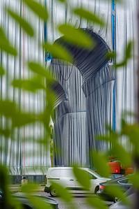 Christo-Jeanne Claude - Arc de Triophe Wrapped - Sept 2021