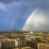 Rainbows Over Downtown Phoenix-2
