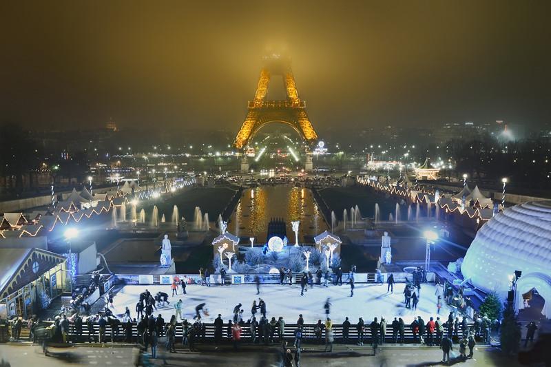 Paris at Christmas.