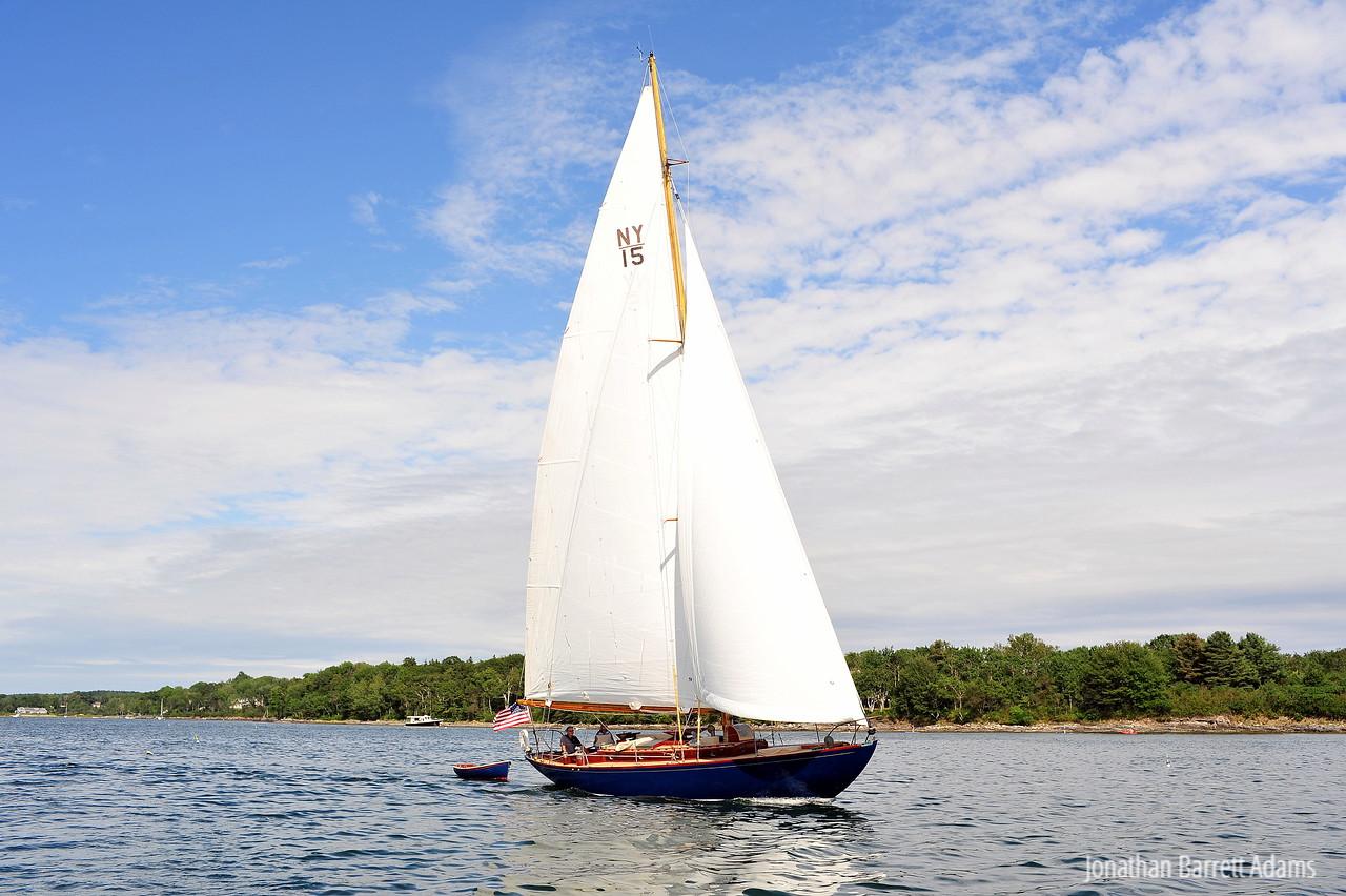 Sapphire Under Full Sail II