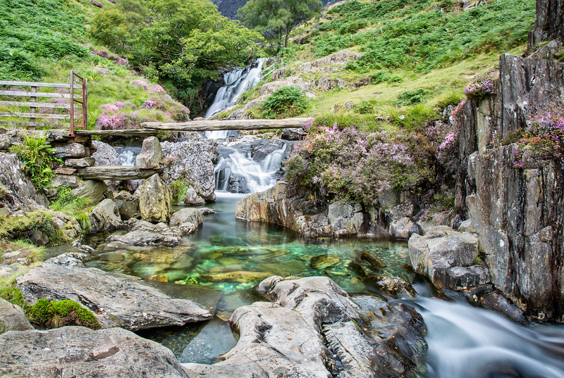 Snowdonia Waterfall