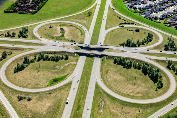 Circle Drive & Highway 16 Aerial