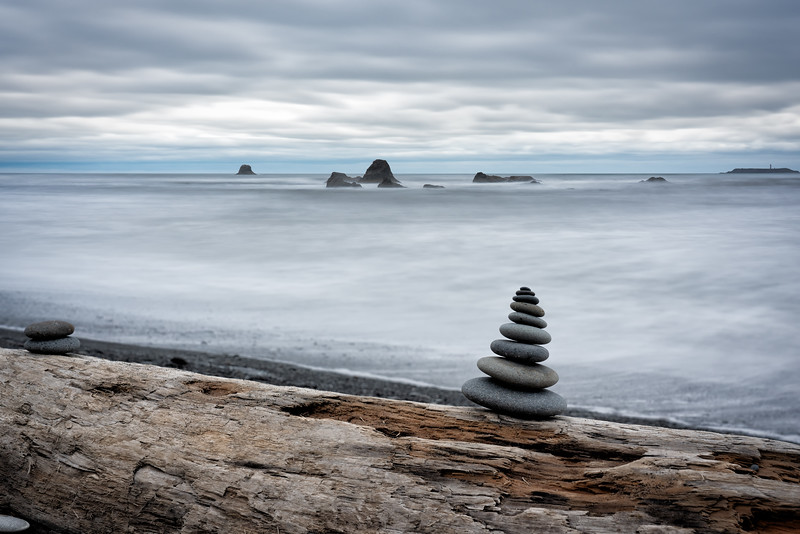 Ruby Beach Cairn