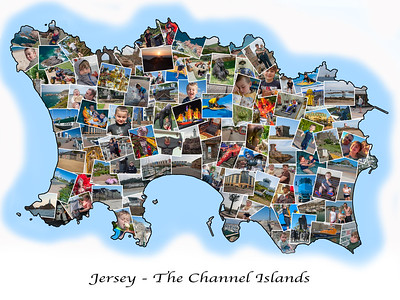 Jersey Holiday Collage