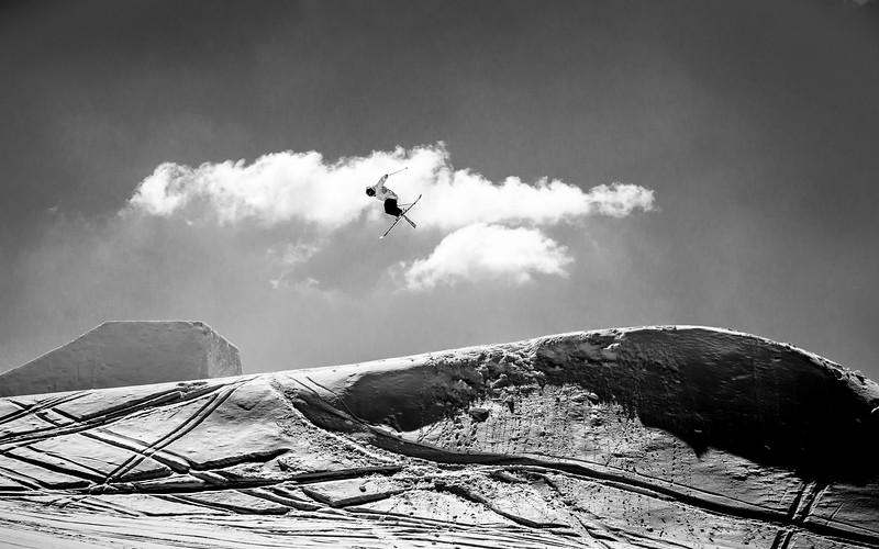 Snowpark Sessions, Freesking, Planai, Austria 2015,  Steve Gröbner