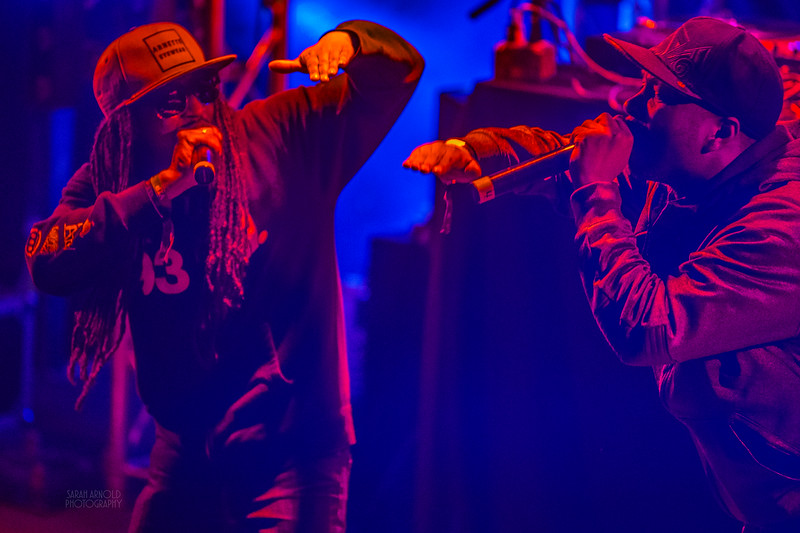 A-Plus and Knobody at the Santa Cruz Music Festival