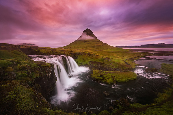 Misty Morning at Kirkjufell