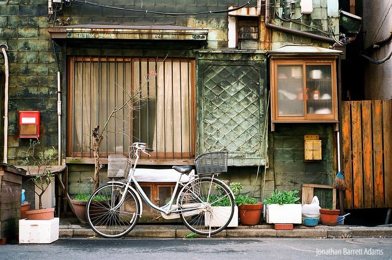 Copper-Clad House, Tsukiji, Tokyo