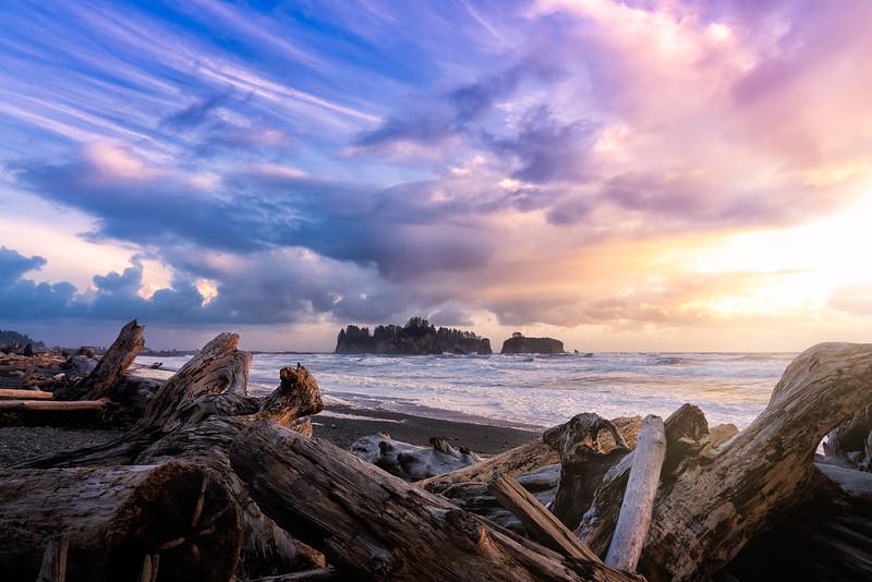 Rialto Beach Sunset II